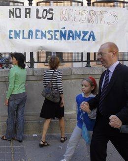 Huelga De Profesores En La Comunidad De Madrid Por Los Recortes En Educación