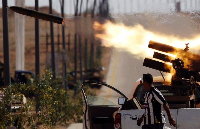 Combates En Sirte