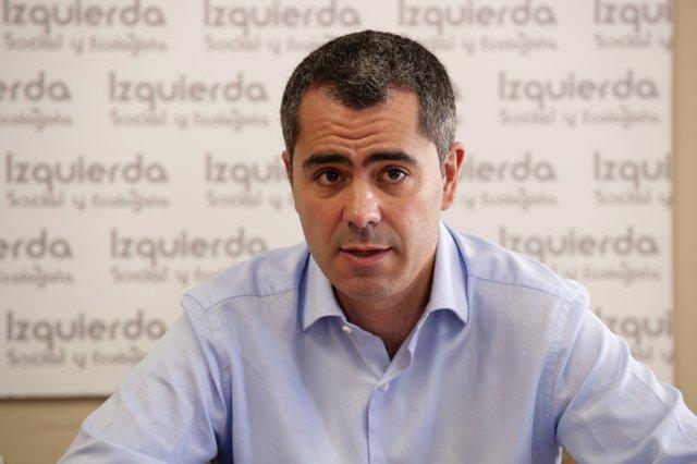 Miguel Saro, Candidato IU Santander