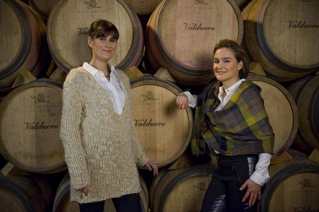 Yolanda y Carolina García Viadero, propietarias de Bodegas Valduero