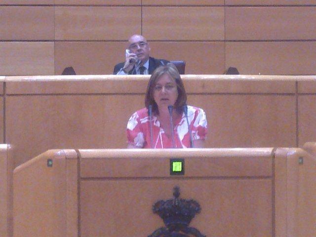 La Senadora Del PP Joana Xamena.