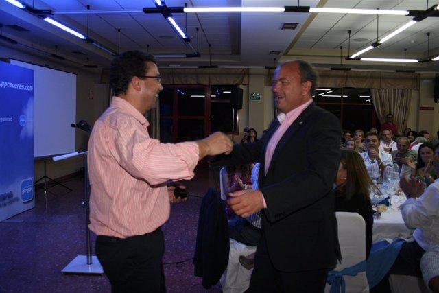 1º Octubre Fotos Acto PP En Malpartida De Cáceres 1