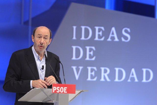 Alfredo Pérez Rubalcaba, Candidato Socialista A La Presidencia Del Gobierno