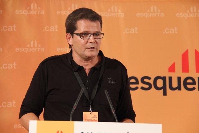 El Coordinador De La Ponencia Política De ERC, Isaac Albert