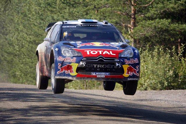 Sebastian Ogier En Rally Findandia