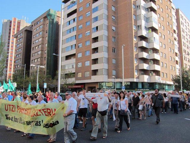 Manifestación En Favor De Los Detenidos Por Pertenecer A Segi.