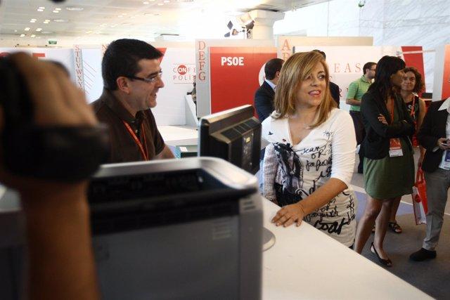 Elena Valenciano, En La Conferencia Política Del PSOE