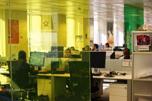 Oficina ordenador usuario