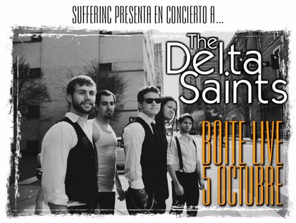 The Delta Saints actuarán mañana en Madrid