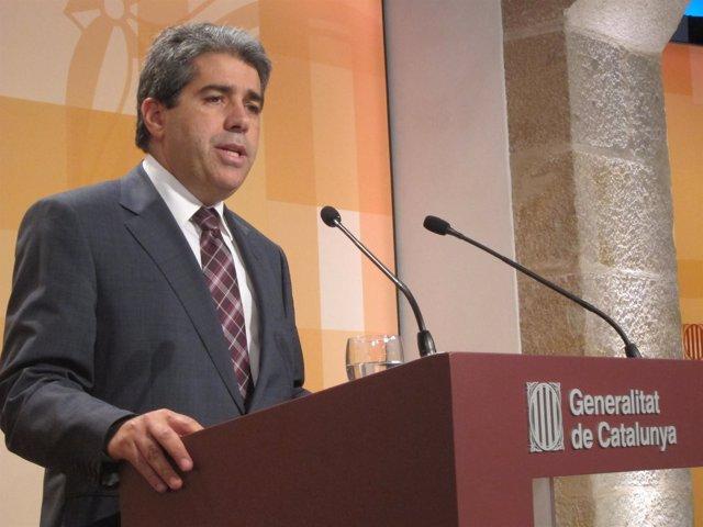 Francesc Homs, En El Consell Executiu