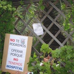 Protesta Contra El Cierre Del Hospital Dos De Maig