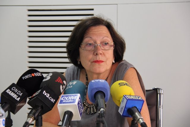 Presidenta Del Colegio De Enfermeras De Girona, Carme Puigvert
