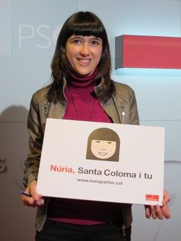 La alcaldesa de Santa Coloma de Gramenet Núria Parlón (PSC)