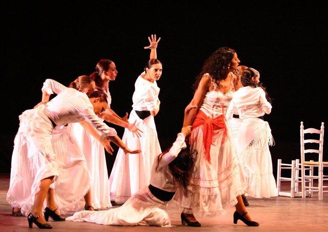 Montaje 'Carmen' Del Ballet Flamenco De Madrid