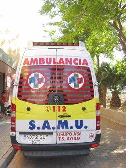 Una Unidad Del SAMU