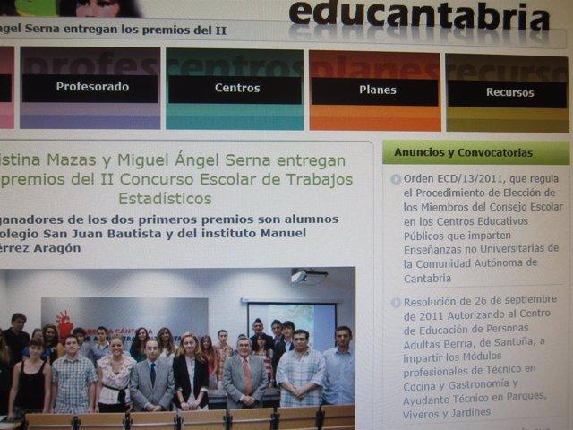 Web Educantabria