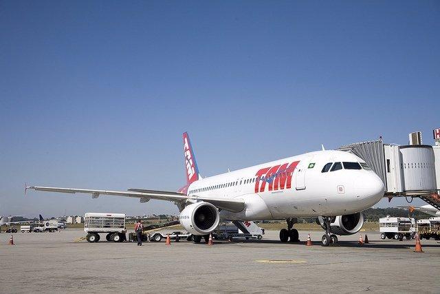 Avión De TAM Airline