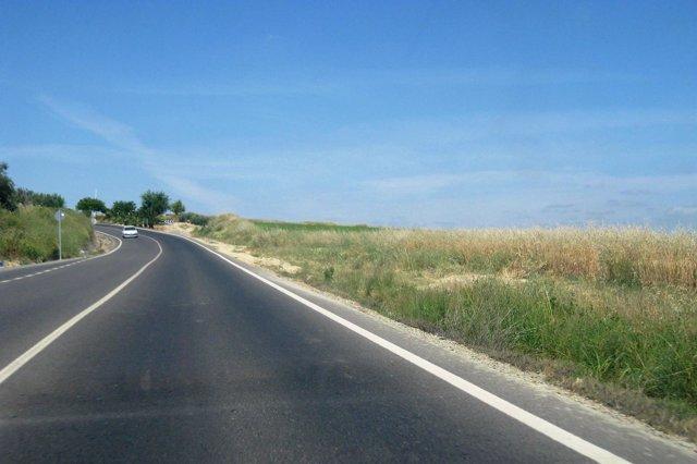 Carretera A-8077.