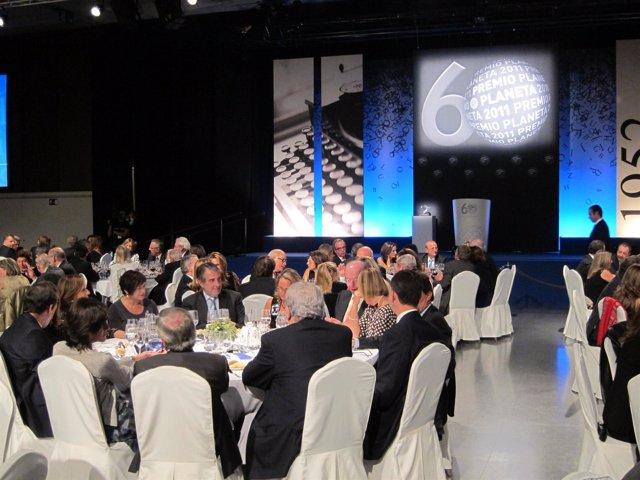 Cena Del Premio Planeta 2011