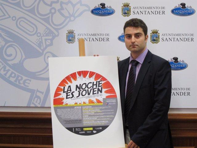 Daniel Portilla, Concejal De Juventud