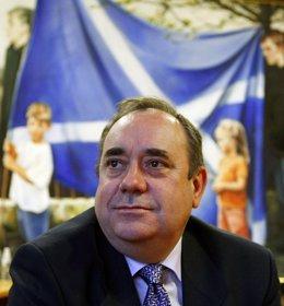 El primer ministro de Escocia, Alex Salmond