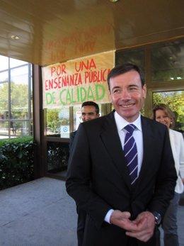 Tomás Gómez, Portavoz Del PSOE En La Asamblea De Madrid