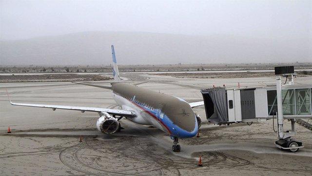 Aeropuerto Argentino Cerrado Por Las Cenizas Del Volcán Puyuhue