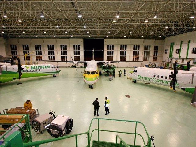 Hangar ATR, Binter Canarias