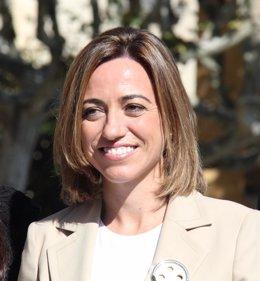 La ministra Carme Chacón