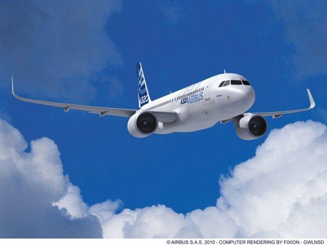 Avión A320 De Airbus