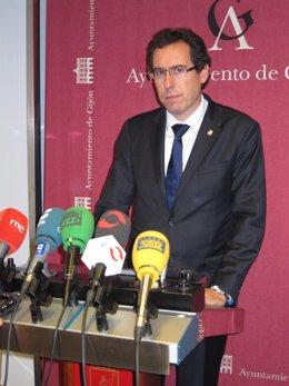 El Concejal De Desarrollo Económico De Gijón, Fernando Couto