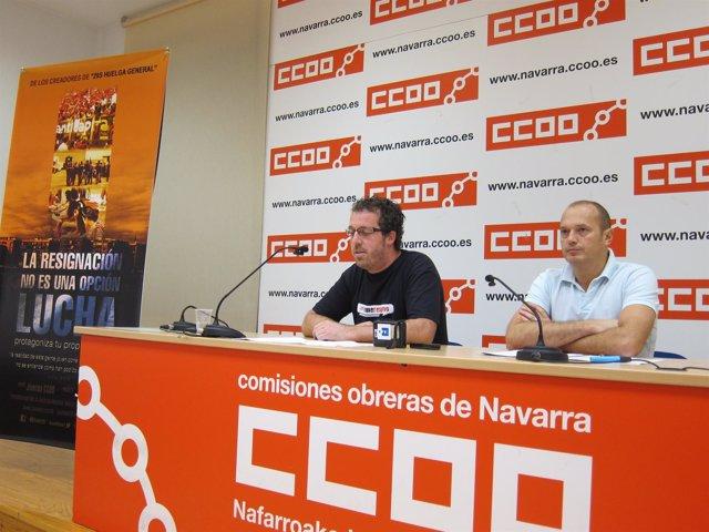 Rubén Belzunegui Y Raúl Villar Presentan Una Campaña.