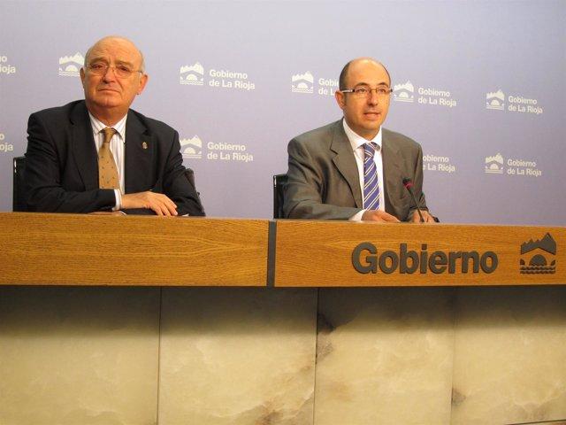 Julián Doménech Presidente FER E Igor Fonseca, Director General Agricultura
