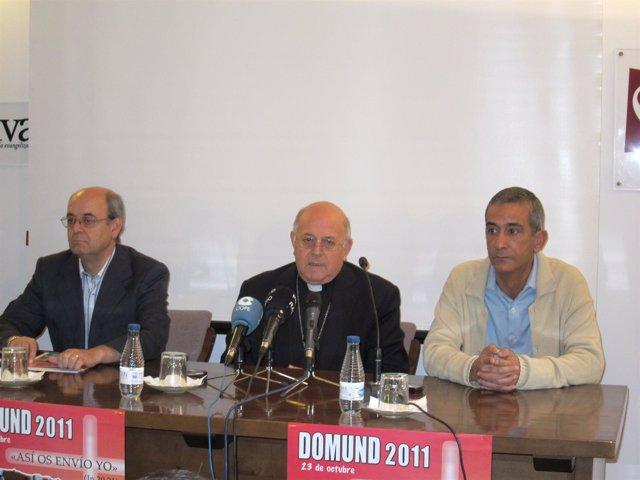De Izquierda A Derecha: Javier Carlos Gómez, Ricardo Blázquez Y Juan Medina