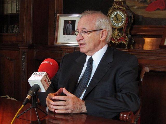 Miquel Valls, Presidente De La Cámara De Comercio De Barcelona