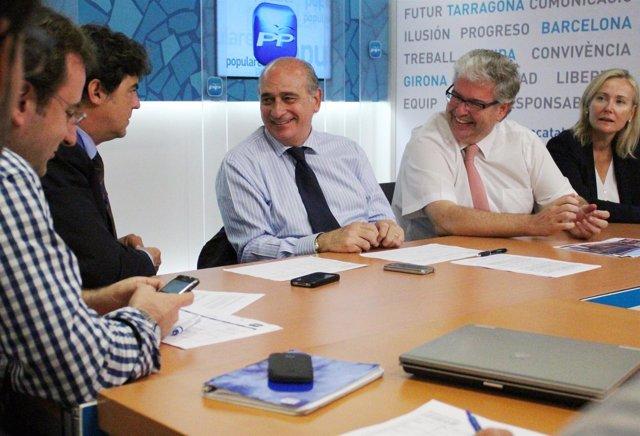 Comité De Campaña Del PP Catalán Para Las Generales 2011