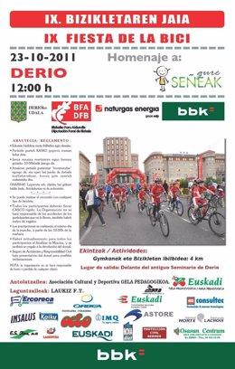 Cartel De La 'Fiesta De La Bicicleta'