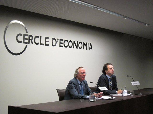 Josep Piqué Y Jordi Alberich, Pte. Y Dtor. Del Círculo De Economía