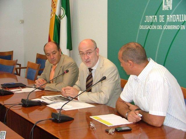 El Delegado De La Junta En Huelva, Manuel Alfonso Jiménez, En Rueda De Prensa