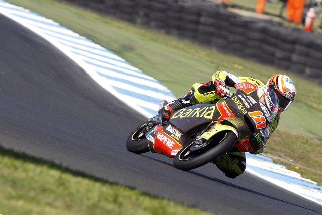 El Piloto Del Bankia Aspar Team Nico Terol