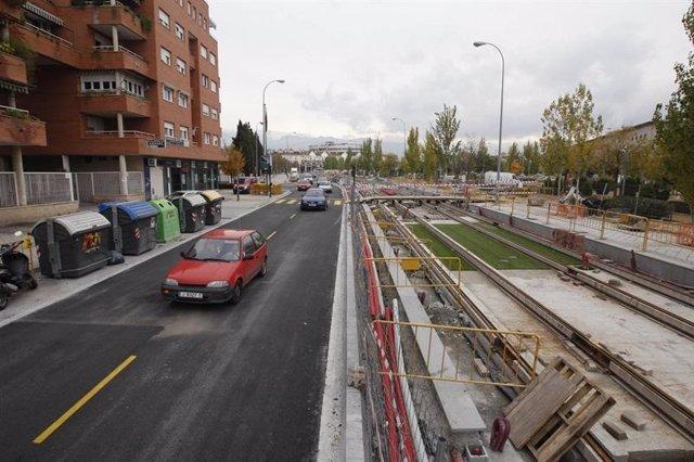 Imagen De Obras Por El Metro De Granada