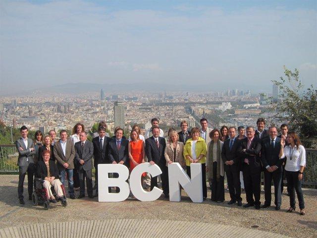 Candidatos Del PSC Por Barcelona A Las Elecciones Generales 2011