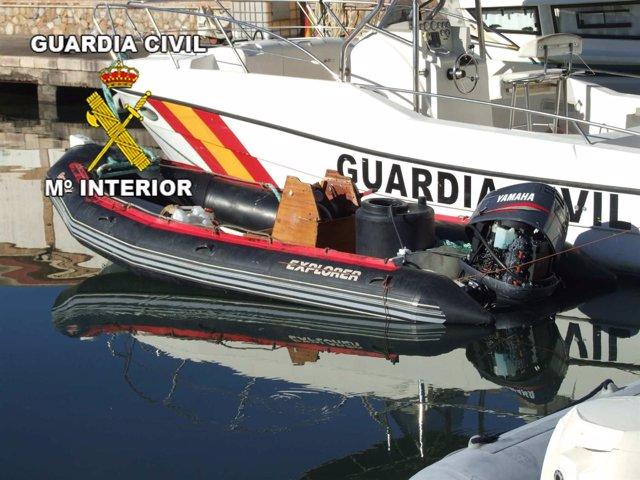 Embarcación Intervenida