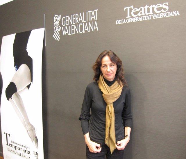 La directora de Teatres, Inmaculada Gil Lázaro