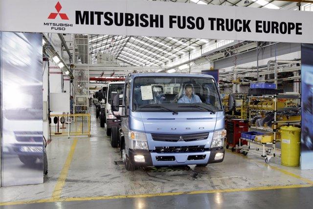 Fabricación Del Mitsubishi Fuso En Portugal