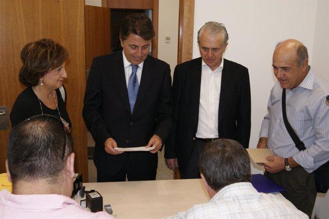 Presentación De Las Listas Del PP En Castellón Ante La JEP