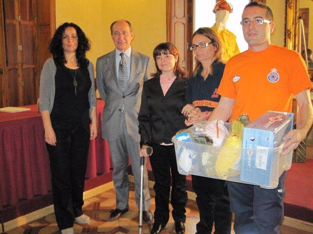 Díaz Trillo Entrega Equipos De Protección Individual Contra El Fuego