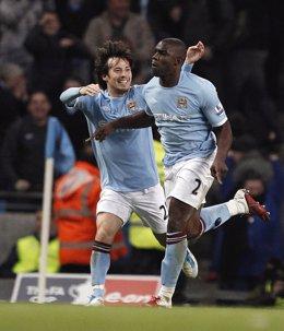 David Silva del Manchester City