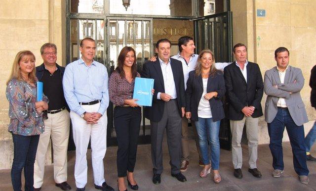 Presentación De La Candidatura Del PP De Alicante Al Congreso Y Al Senado
