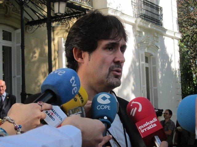 El Secretario General De EA, Pello Urizar